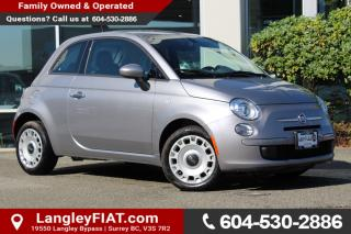 New 2017 Fiat 500 Pop WITH TINTED WINDOWS, 5-INCH TOUCHSCREEN for sale in Surrey, BC