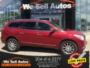 Used 2014 Buick Enclave AWD *HTD SEATS *LTHR *CAM *SAT RADIO for sale in Winnipeg, MB