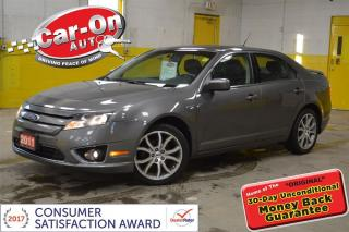 Used 2011 Ford Fusion RARE 6 SPEED AND LOADED for sale in Ottawa, ON