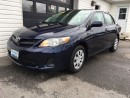 Used 2011 Toyota Corolla CE for sale in Kingston, ON