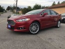 Used 2016 Ford Fusion SE for sale in Bradford, ON