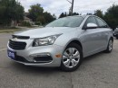 Used 2016 Chevrolet Cruze LT limited for sale in Bradford, ON