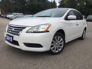 Used 2015 Nissan Sentra S for sale in Bradford, ON