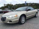 Used 2006 Chrysler Sebring Low KMS for sale in Norwood, ON
