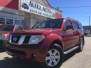 Used 2006 Nissan Pathfinder Limited edition, 4x4 certified, leather, DVD for sale in North York, ON