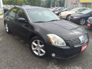 Used 2006 Nissan Maxima 3.5 SE/SUN ROOF/PWR SEATS/LOADED/ALLOYS for sale in Scarborough, ON