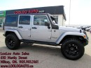 Used 2015 Jeep Wrangler Sahara Navigation System Bluetooth certified 2YR W for sale in Milton, ON