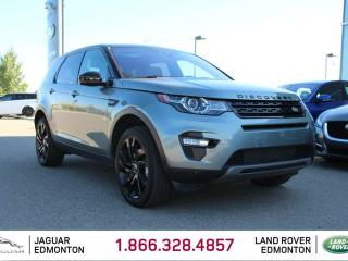 Used 2017 Land Rover Discovery Sport HSE Luxury Black Pack - CPO 6yr/160000kms manufacturer warranty included until March 30, 2023! CPO rates starting at 2.9%! Locally Owned and Driven | Executive Demo | No Accidents | 3M Protection Applied | Upgraded Navigation Screen | Front/Rear Cam for sale in Edmonton, AB