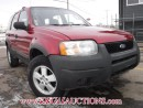 Used 2003 Ford ESCAPE  4D UTILITY 4WD for sale in Calgary, AB