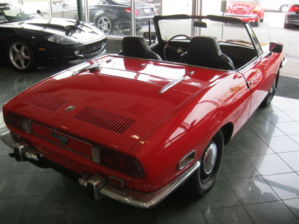 Used 1970 Fiat 124 Spider Rare 850 Spyder True Collectible For Convertible 416 231 5507
