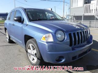 Used 2007 Jeep Compass Sport 4D Utility 4WD for sale in Calgary, AB