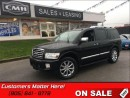 Used 2010 Infiniti QX56 V8, 4X4, SUNROOF, CAMERA, NAVIGATION, DVD! for sale in St Catharines, ON