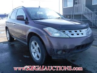 Used 2003 Nissan MURANO SL 4D UTILITY AWD for sale in Calgary, AB