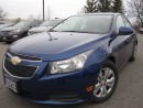 Used 2013 Chevrolet Cruze LT Turbo-NEW tires-Certified for sale in Mississauga, ON