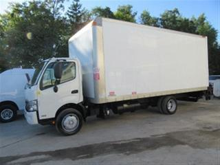 Used 2013 Hino 195 diesel with custom 20 ft aluminum box for sale in Richmond Hill, ON