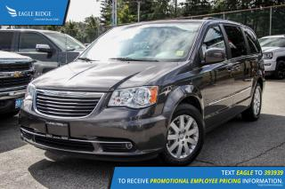 Used 2016 Chrysler Town & Country Touring Satellite Radio and Backup Camera for sale in Port Coquitlam, BC