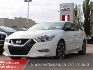 Used 2017 Nissan Maxima Service Loaner SR 4dr FWD Sedan for sale in Edmonton, AB
