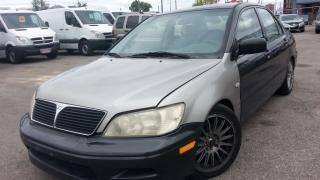 Used 2002 Mitsubishi Lancer ES, Automatic, Alloys, 2.0L 4cyl for sale in North York, ON