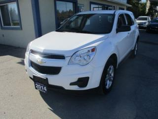 Used 2014 Chevrolet Equinox ALL-WHEEL DRIVE LS EDITION 5 PASSENGER 2.4L - ECO-TEC.. ECON-BOOST PACKAGE.. CD/AUX/USB INPUT.. KEYLESS ENTRY.. for sale in Bradford, ON