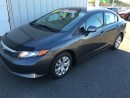 Used 2012 Honda Civic Sdn LX for sale in Grand Falls-windsor, NL