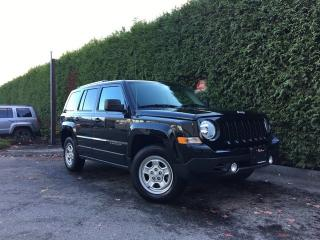 Used 2016 Jeep Patriot NORTH 4X4 + BLUETOOTH + A/C + CRUISE CONTROL + NO EXTRA DEALER FEES for sale in Surrey, BC