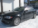 Used 2012 BMW 1 Series 128i 6 cyl  coupe blk on blk leather sunroof for sale in Ottawa, ON
