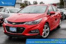 New 2017 Chevrolet Cruze Premier Auto Backup Camera and Heated Seats for sale in Port Coquitlam, BC