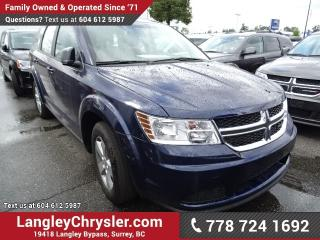 New 2017 Dodge Journey CVP/SE for sale in Surrey, BC