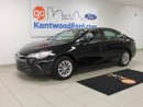 Used 2015 Toyota Camry LE 6 Speed - ENSURED SAFETY WITH THE ARMY OF AIRBAGS PROTECTING YOU AND COMPANY! for sale in Edmonton, AB