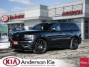 Used 2016 Dodge Durango R/T *SPECIAL BUY* HEMI, LEATHER, SUNROOF for sale in Woodstock, ON