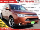 Used 2014 Mitsubishi Outlander GT| 4X4| NAVI| SUNROOF| LEATHER| for sale in Burlington, ON