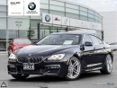 Used 2014 BMW 6 Series 640i xDrive Gran Coupe AWD, Nav, RV Cam, Soft Close Doors, M Sport Package, Comfort Access for sale in Oakville, ON
