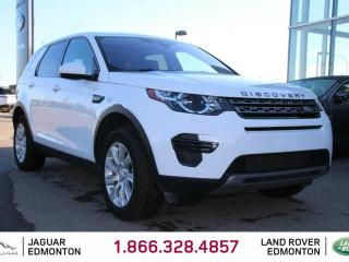 Used 2017 Land Rover Discovery Sport SE - CPO 6yr/160000kms manufacturer warranty included until December 30, 2022! CPO rates starting at 2.9%! Locally Owned and Driven | Executive Demo | 3M Protection Applied | Navigation | 5+2 Seating | Seats 7 | Heated Windshield with Rain Sensing W for sale in Edmonton, AB