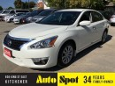 Used 2015 Nissan Altima LOW, LOW KMS.. PRICED FOR A QUICK SALE for sale in Kitchener, ON