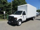 Used 2011 Ford E450 16 ft gas high box cube van for sale in Richmond Hill, ON