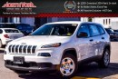 New 2017 Jeep Cherokee Sport|Bluetooth Connectivity|AC|Traction Cntrl.|Cruise Cntrl.| for sale in Thornhill, ON