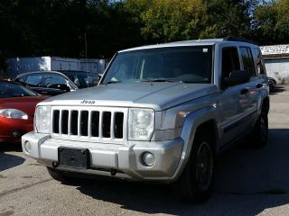 Used 2006 Jeep Commander 7 SEATS-ON SALE FOR ONLY 4485 for sale in Scarborough, ON