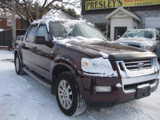 Used 2007 Ford Explorer Sport Trac Limited 4WD 4DR 4.6L Sport trac AC for sale in Ottawa, ON