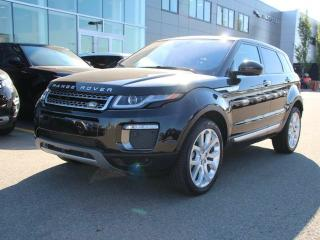 Used 2017 Land Rover Evoque HSE - CPO 6yr/160000kms manufacturer warranty included until December 30, 2022! CPO rates starting at 2.9%! Local One Owner Trade In | No Accidents | Navigation | Surround Camera System | Parking Sensors | Park Assist | Reverse Traffic/Blind Spot/Closing  for sale in Edmonton, AB