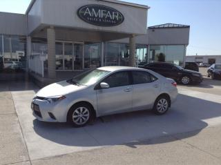 Used 2015 Toyota Corolla 6 MONTHS NO PAYMENTS / QUICK & EASY FINANCING !!! for sale in Tilbury, ON
