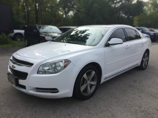 Used 2009 Chevrolet MALIBU LT2 * LEATHER/CLOTH * SUNROOF * BLUETOOTH * SAT RADIO SYSTEM for sale in London, ON