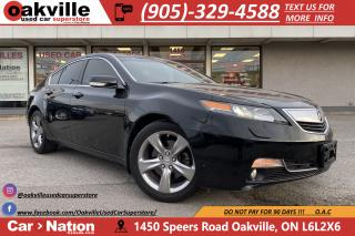 Used 2012 Acura TL SH-AWD | SUNROOF | LEATHER | HTD SEATS for sale in Oakville, ON
