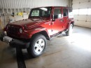 Used 2009 Jeep Wrangler Unlimited Sahara for sale in Cameron, ON
