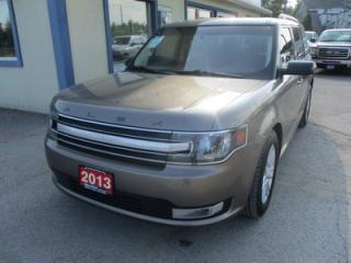 Used 2013 Ford Flex ALL-WHEEL DRIVE SEL MODEL 7 PASSENGER 3.5L - V6.. BENCH & 3RD ROW.. LEATHER.. HEATED SEATS.. POWER SUNROOF.. POWER PEDALS.. for sale in Bradford, ON