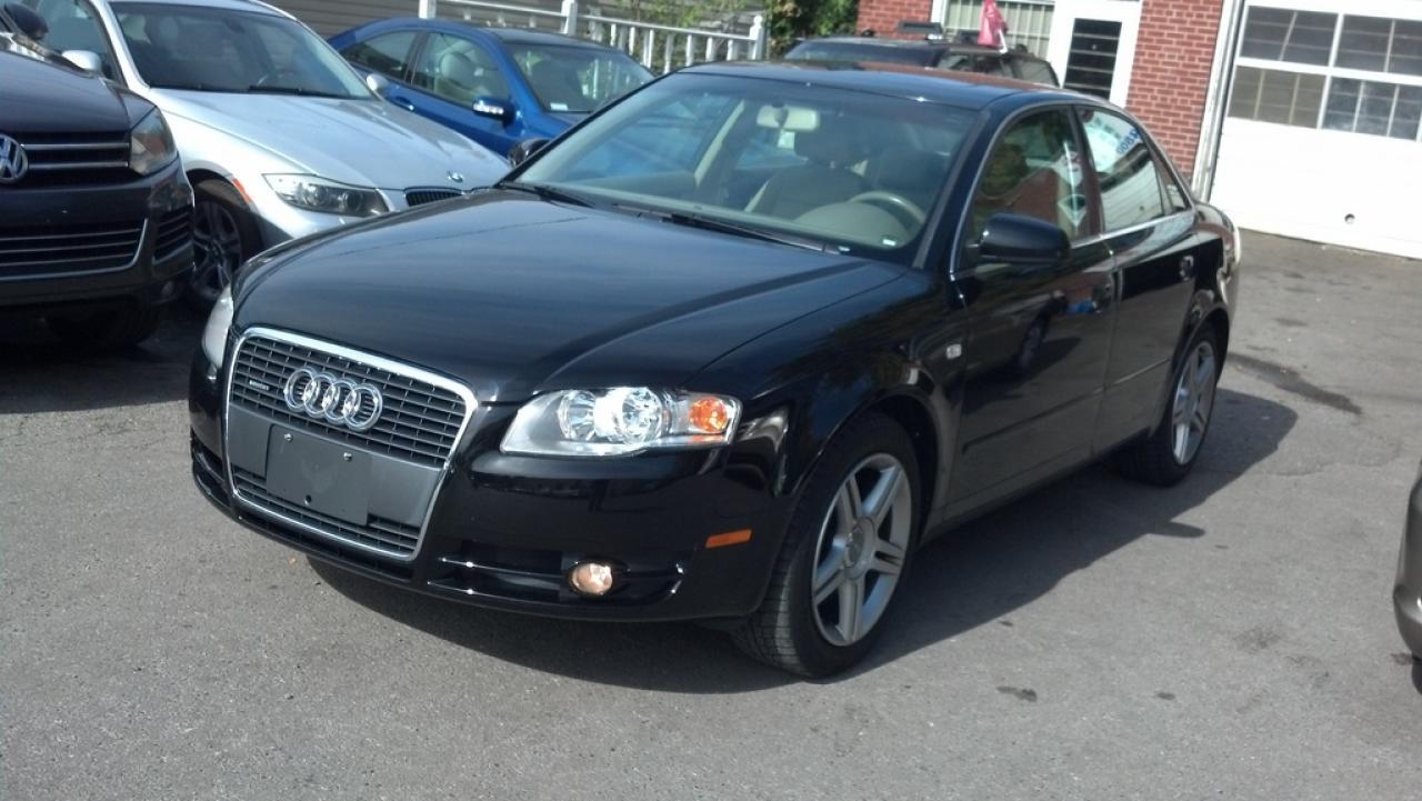 Photo of Black 2007 Audi A4