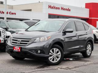 Used 2013 Honda CR-V TOURING NO ACCIDENTS for sale in Burlington, ON