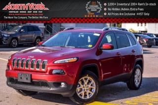 New 2017 Jeep Cherokee NEW Car North|Cold Wthr Pkg|RearCam|Bluetooth|SatRadio|17