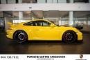 Used 2014 Porsche 911 GT3 Porsche Approved Certified Pre-Owned. for sale in Vancouver, BC