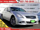 Used 2012 Infiniti G37 X Sport| AWD| LEATHER| NAVI| SUNROOF| for sale in Burlington, ON