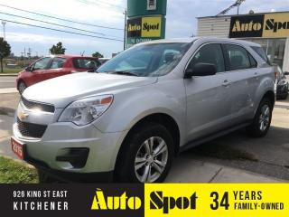 Used 2015 Chevrolet Equinox LS/MASSIVE CLEAROUT EVENT/PRICED FOR AN IMMEDIATE for sale in Kitchener, ON